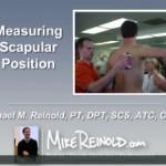 Assessing Scapular Position